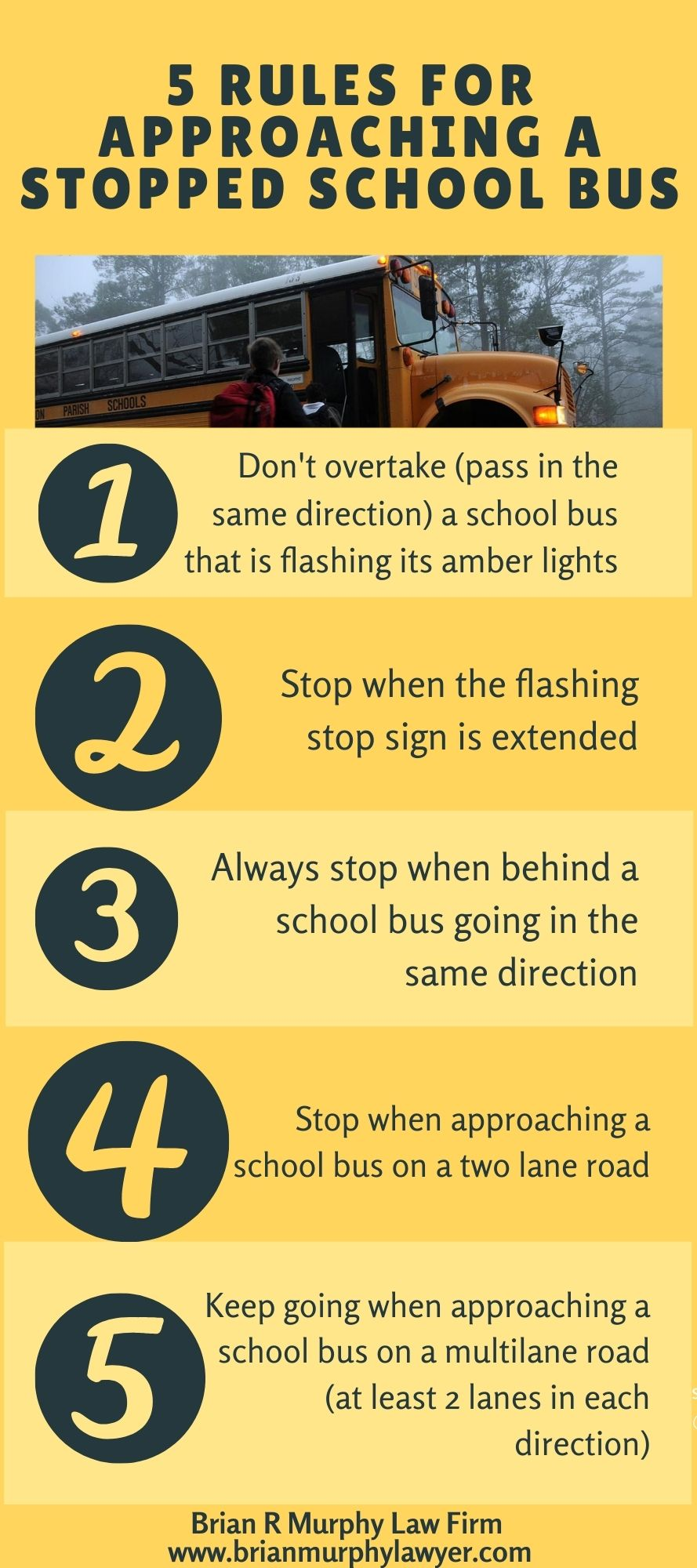 5 Rules Infographic